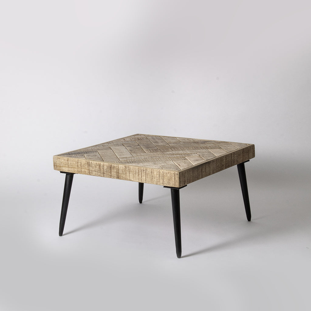 Light Wood Coffee Table Parquet
