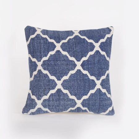 Maha Geometric Blue Scatter Cushion