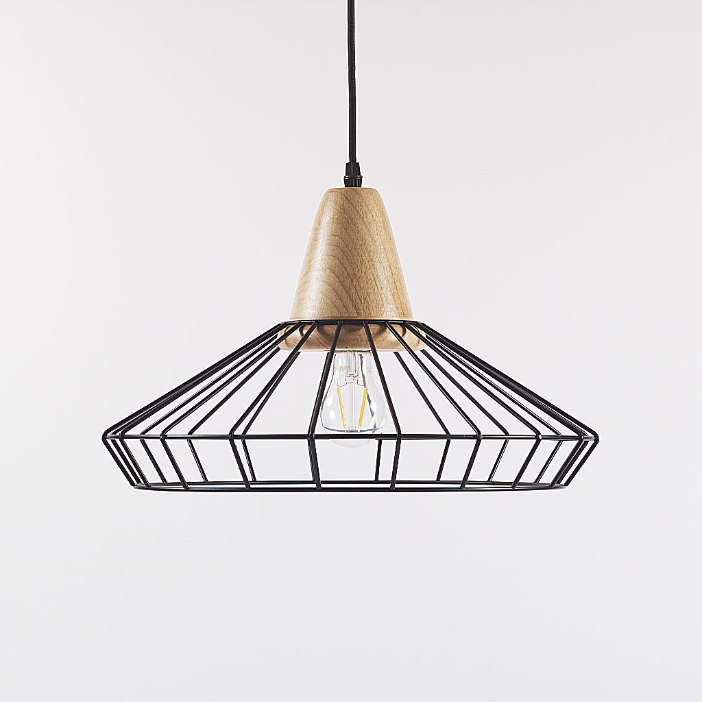 Coop Metal Cage Pendant Light