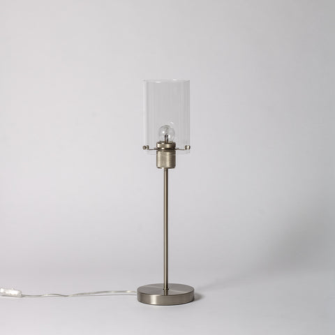 Nickel Table Lamp