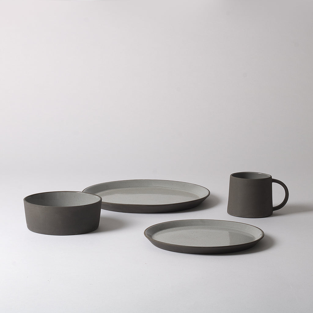 Nordic Dinnerware Set, Grey