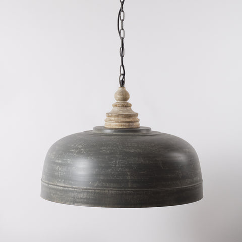 Large Metal Dome Shade