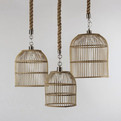 Wicker Ceiling Light