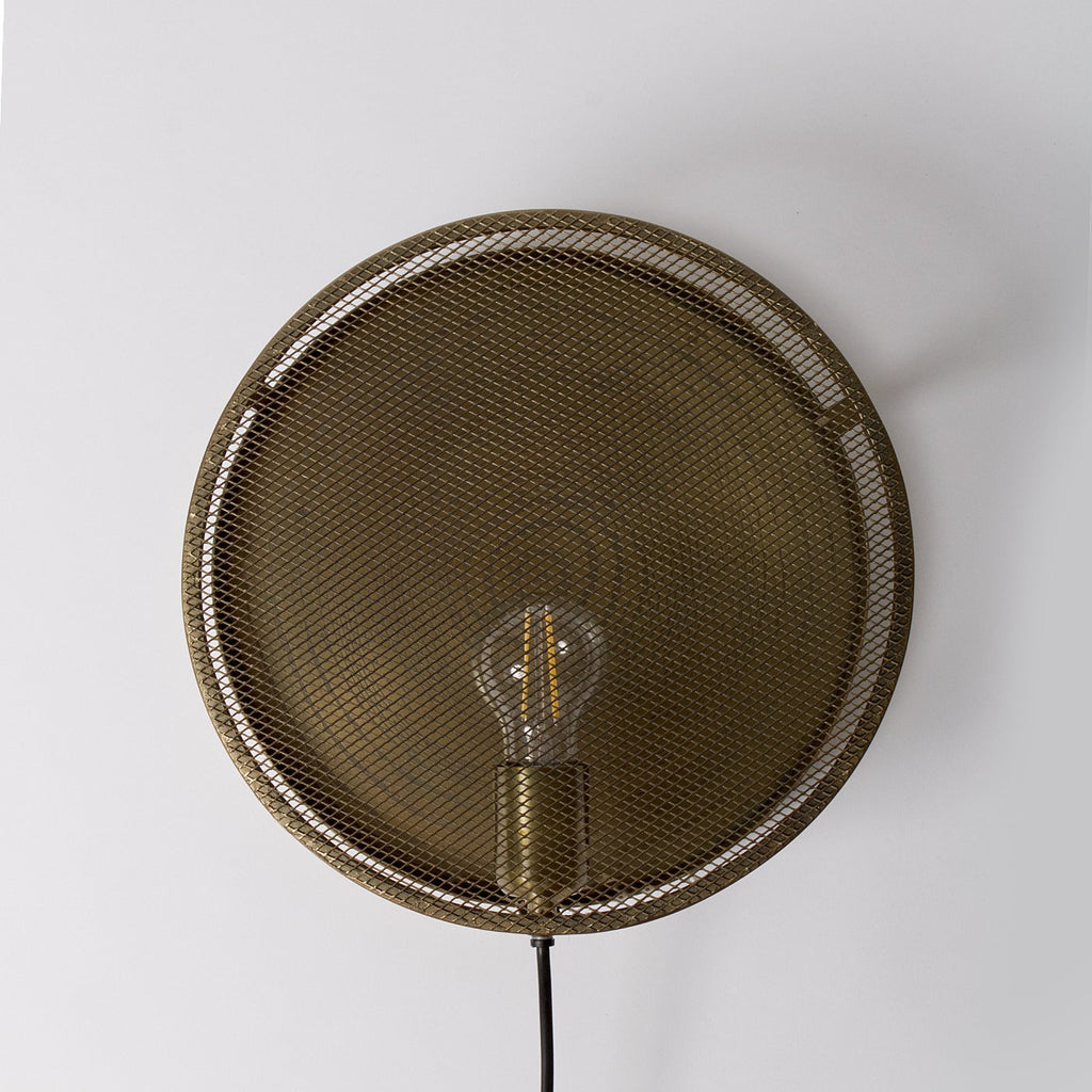 Bronze Moroccan Wall Light