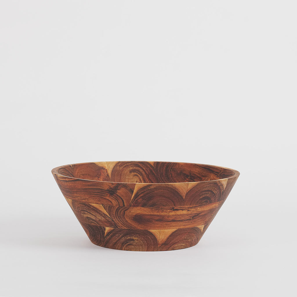 Bonn Rustic Serving Bowl Acacia