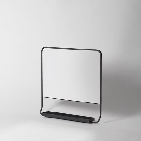 Small Bathroom Mirror Shelf