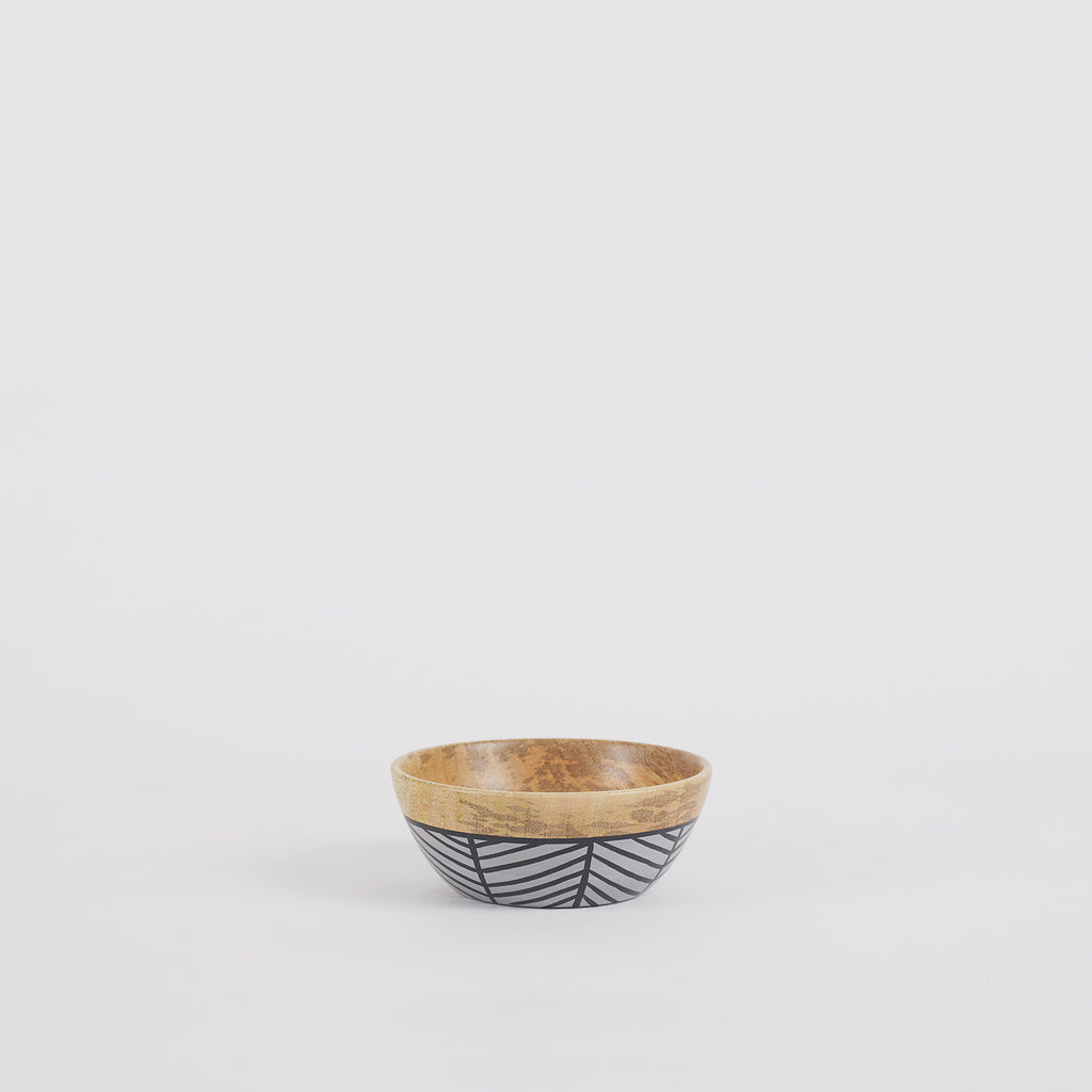 Lucca Wooden Serving Bowls Mango Single
