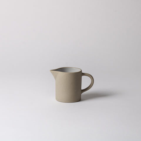 Stoneware Milk Jug, cream