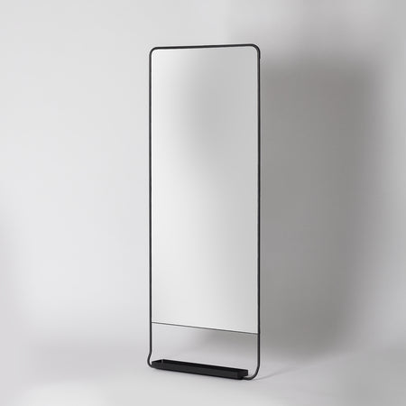 Tall Wall Mirror With Shelf