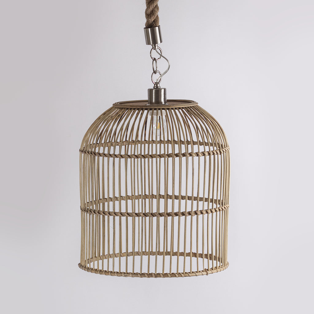 Wicker Pendant Light