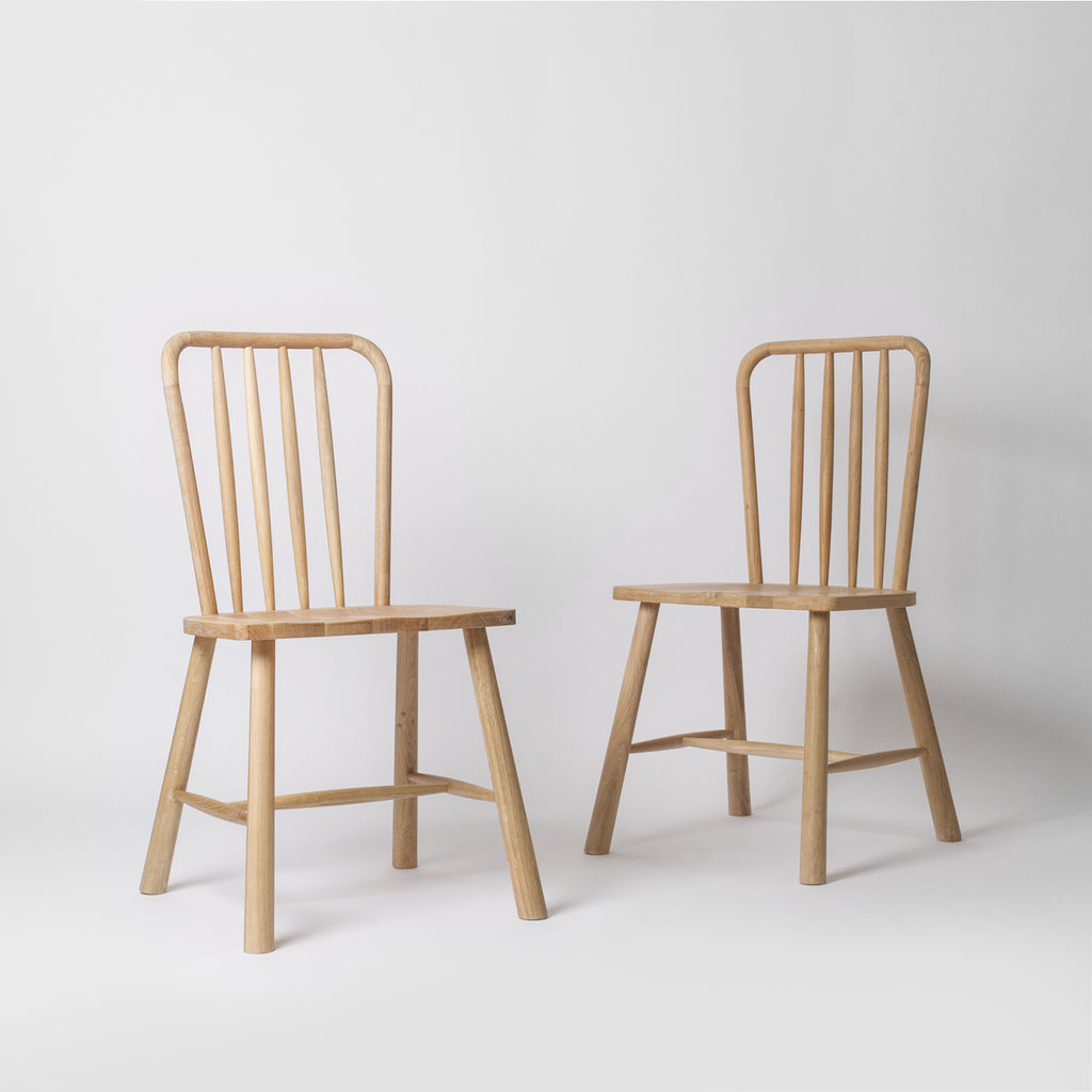 contemporary wooden dining room chair