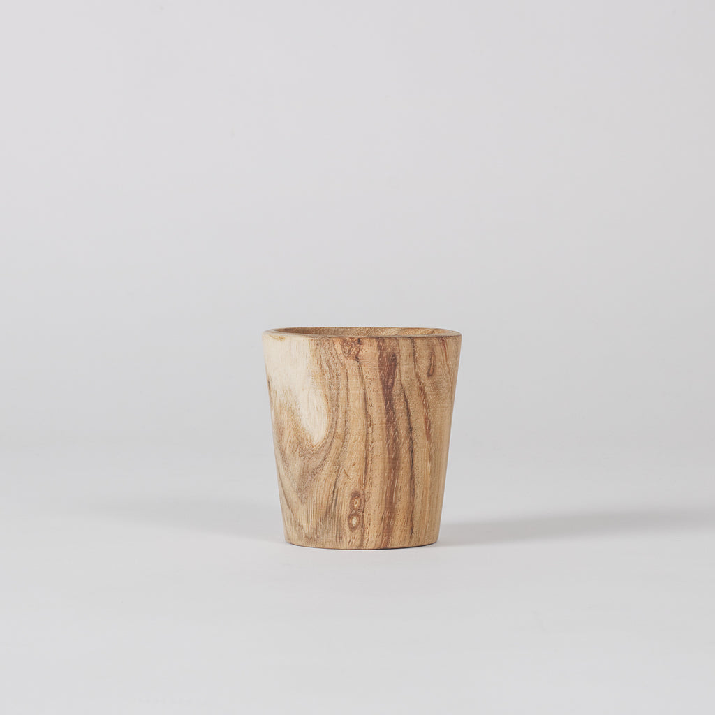 Mottle Wooden Cup, Acacia