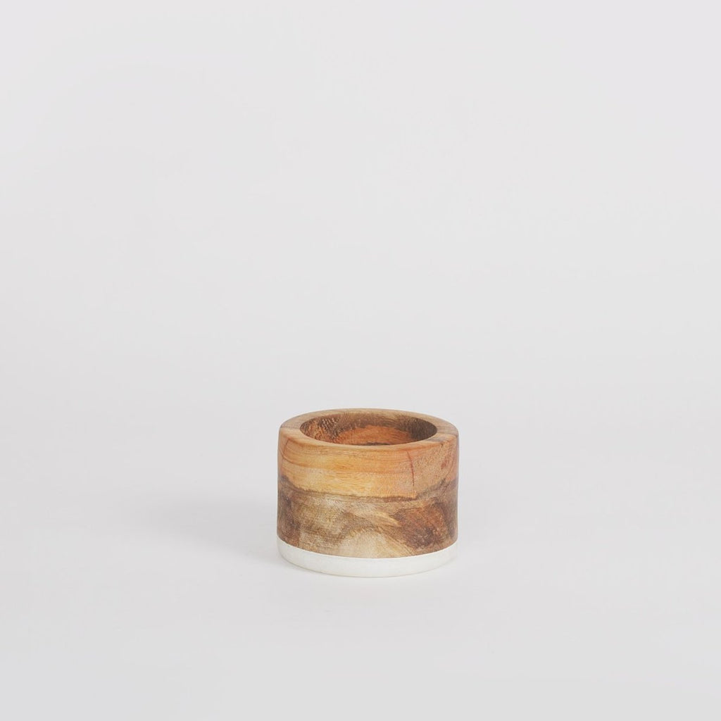 Dolo Wooden Pinch Pot, Mango Wood