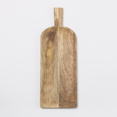 Flam Wooden Serving Board, Mango Wood