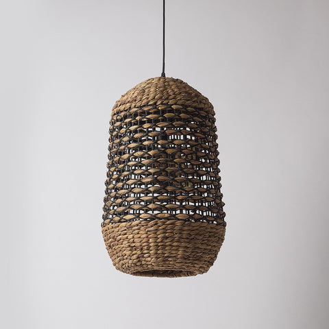 Rattan Basket Pendant Light