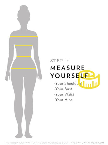 Oprah Winfrey's fashion expert Bradley Bayou's foolproof technique to discover your body shape.