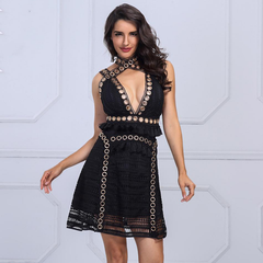 Metal absydes dress
