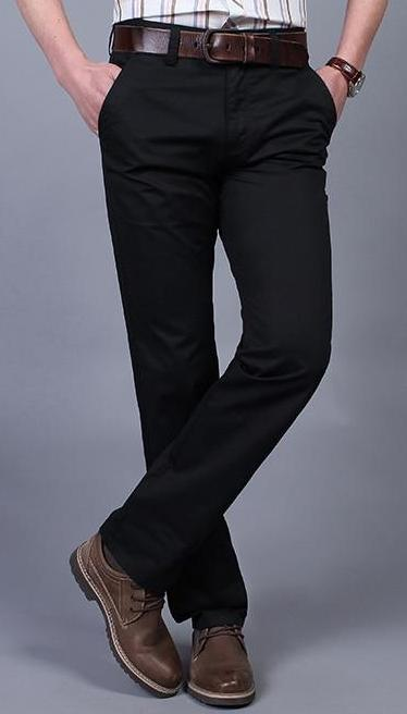 Straight Spring Men Pants