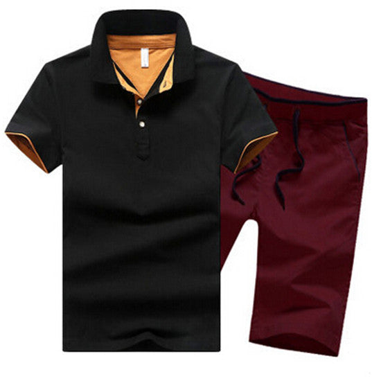 Men's Polo Ante with Shorts