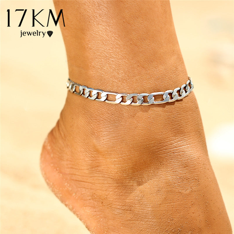 Punk Style Anklets