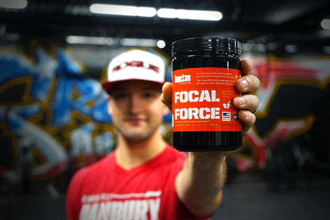 focal force pre-workout bottle