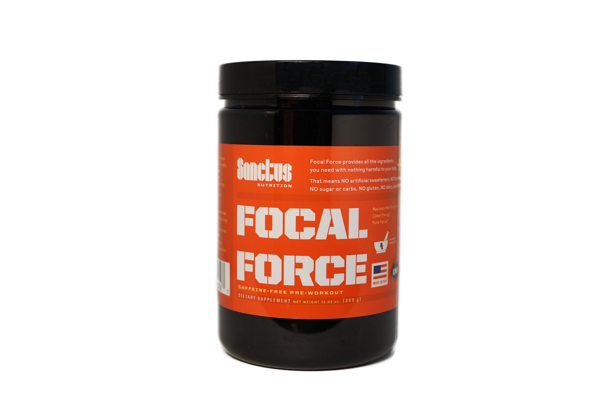 FOCAL FORCE CAFFEINE FREE PRE-WORKOUT