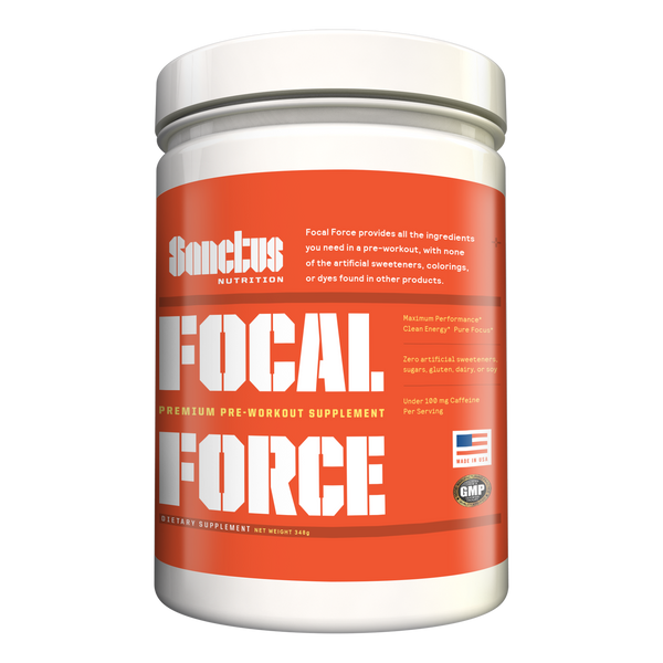 Focal Force Low Caffeine Pre-Workout (20 servings)
