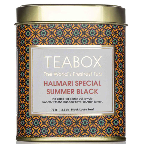 Halmari Special Summer Black Tin