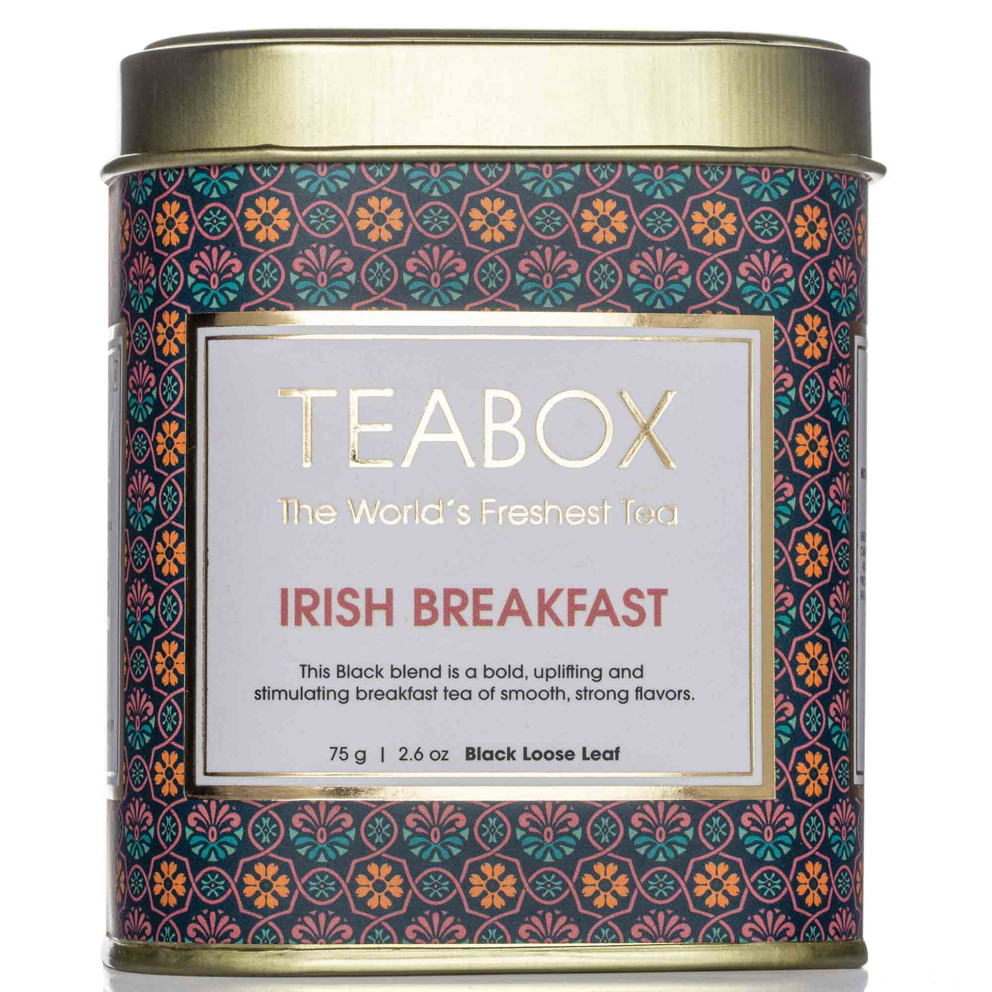 Irish Breakfast Black Tea Tin