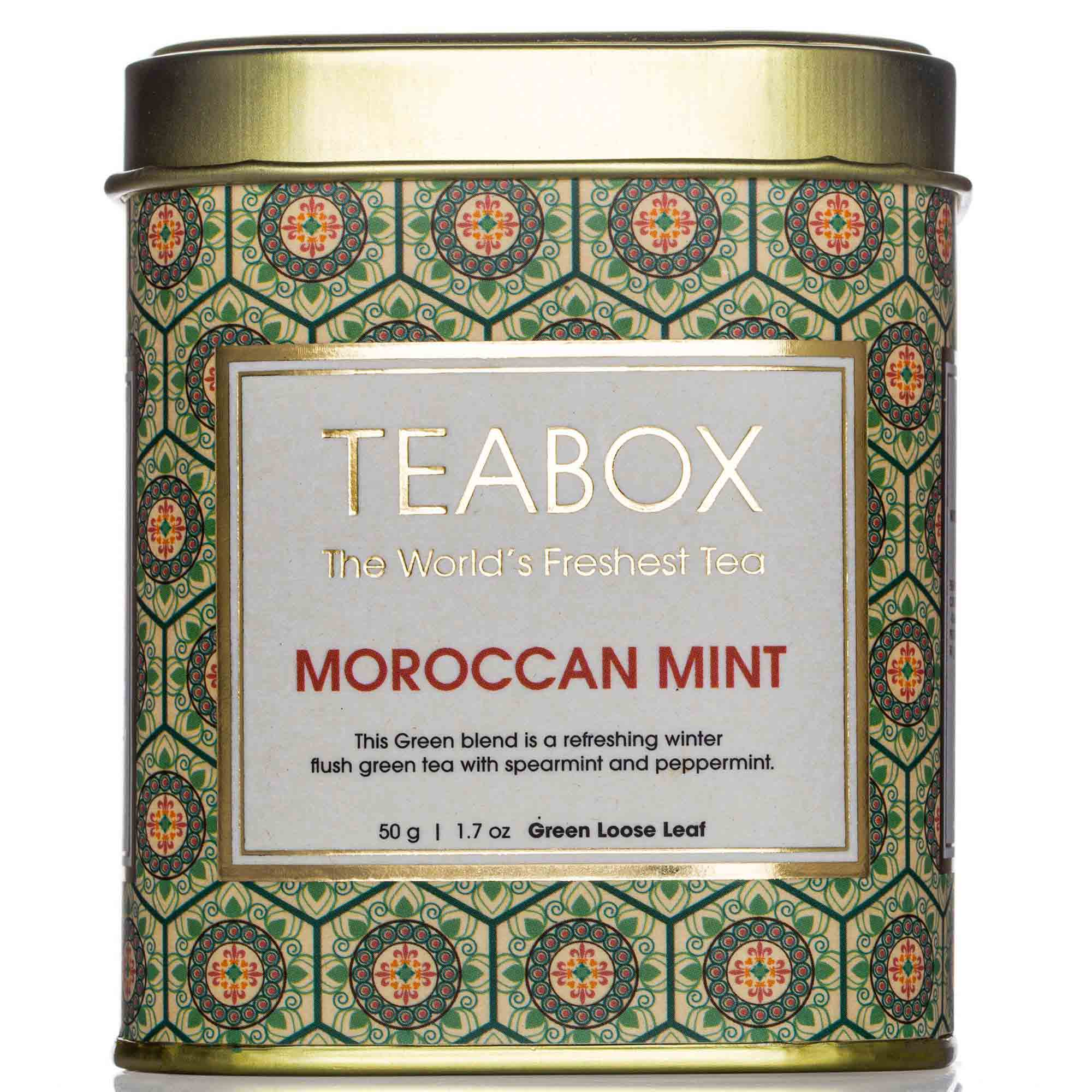 Moroccan Mint Green Tin