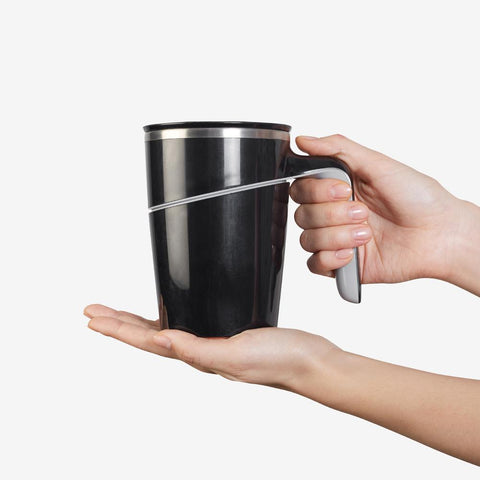 Meridian Tea Mug (Black)
