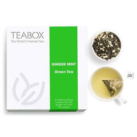 Ginger Mint Green Tea