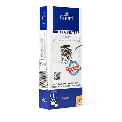 Finum Paper Tea Filters (Pack 100)
