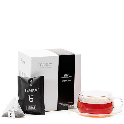 Darjeeling Black Tea with Orbit Cup & Saucer