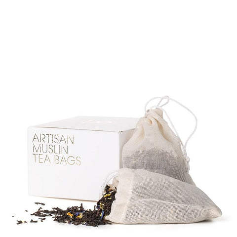 Artisan Muslin Teabags (Pack of 15)