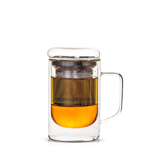 Seidel Glass Tea Mug with Infuser