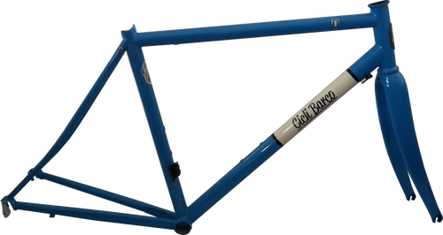 Columbus Spirit steel frame. New steel frame. Cicli Barco #steelisreal