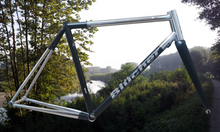 Blucher Steel Columbus XCR Stainless Steel road frame handmade in Italy