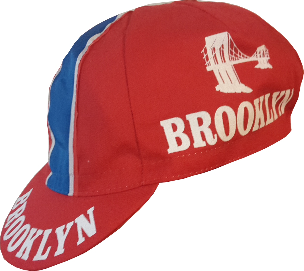 Brooklyn Cycling Team cap - Red