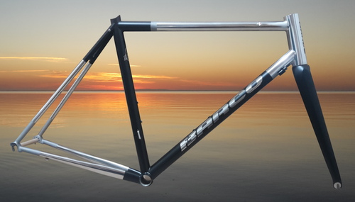 Cicli Barco XCR Stainless Steel Frame in Stock