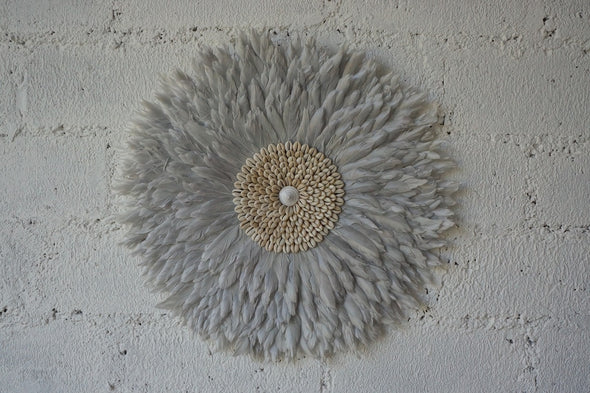 Wall Decor Feather And Shell 003