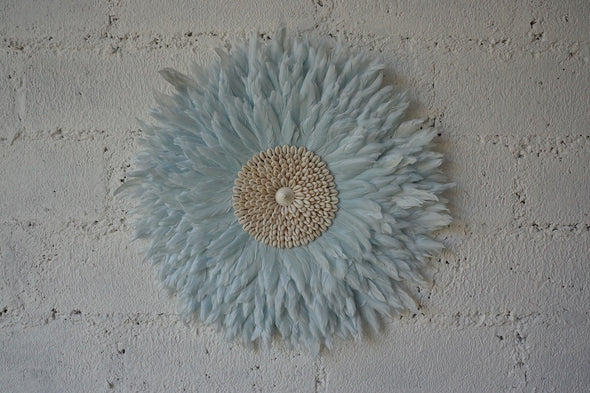 Wall Decor Feather And Shell 004