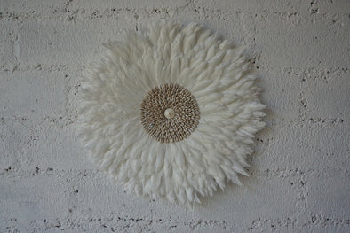 Wall Decor Feather And Shell 005