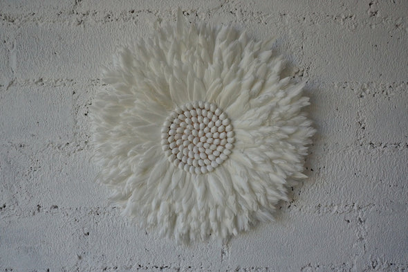 Wall Decor Feather And Shell 006