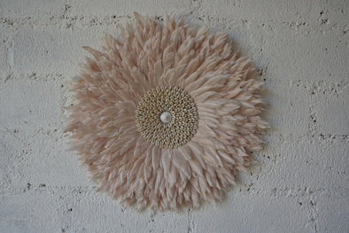 Wall Decor Feather And Shell 007