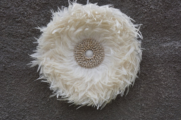 Wall Decor Feather And Shell 023