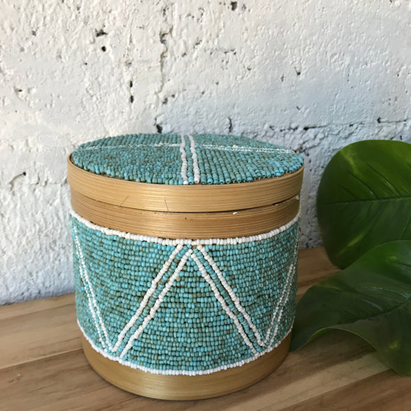 BALI BEADED BOX A27