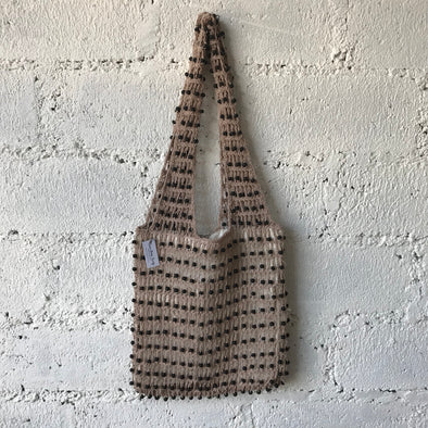CROCHET BEADED TOTE A-5