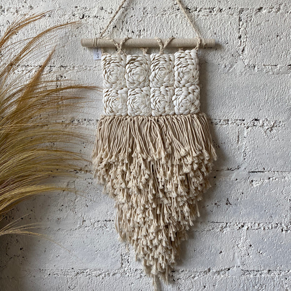 Rose Wall Hanging Macrame