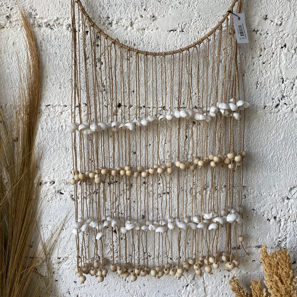 ROUND SINGLE SHELL NATURAL BEADS